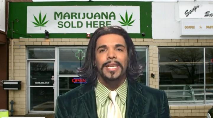 Drake As Katt Williams Vs. Nancy Grace's Anti-Marijuana Crazyness!