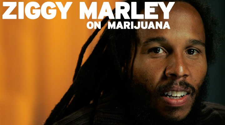 Ziggy Marley on Marijuana
