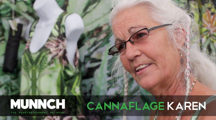 Cannaflage Karen Hempfest Seattle