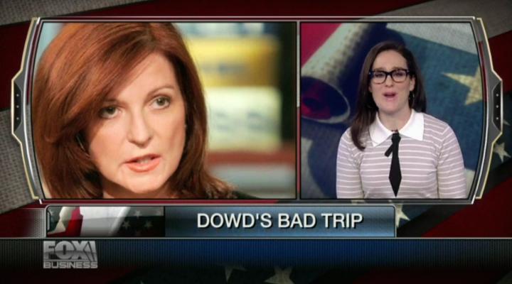 Maureen Dowd's bad trip